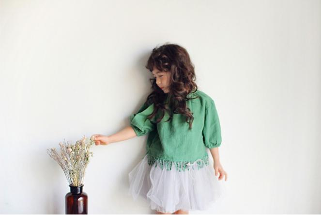 Amber Blouse - green 1